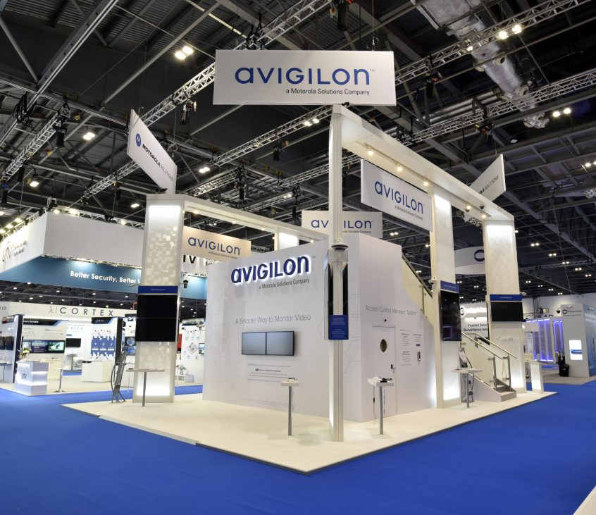 Avigilon / MG Design / IFSEC, London/UK