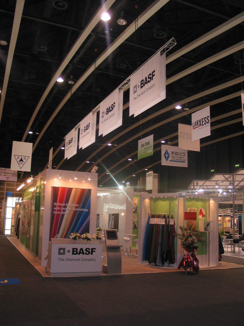 BASF AG, APLF, Asia Pacific Leather Fair, Hongkong