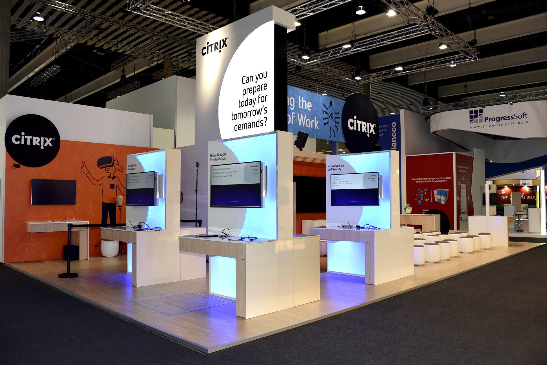 CITRIX / MG Design / MWC Mobile World Congress, Barcelona/Spain